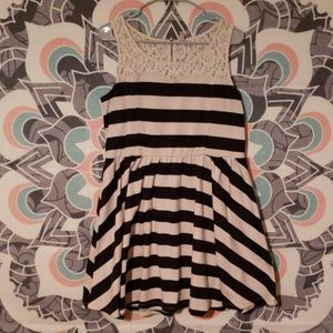 ☆3 for 15☆Stripes & Lace dress